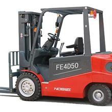 供应四支点电瓶叉车环保型电动叉车配重式座驾电叉图片