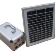 10W直流太阳能照明发电系统图片