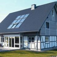 别墅式平板太阳能图片