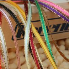 供应金丝边织带气球彩带绸带织带