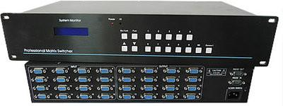 供应VGA16进8出矩阵切换器VGA矩阵16进8出,VGA1608矩阵切换器厂家直销