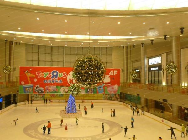 大型商场无限风险美陈v风险空间广告设计产品与图片技术图片