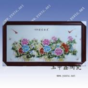 装饰瓷板画陶瓷工艺品图片