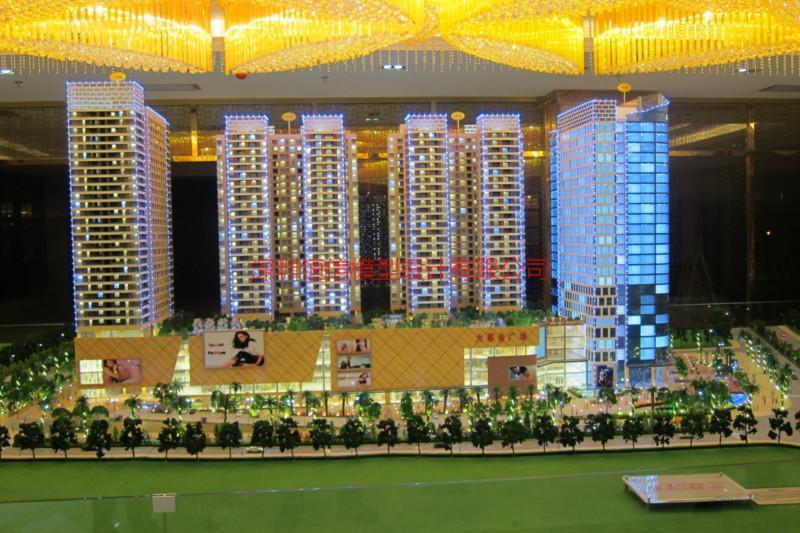 供应深圳水晶模型设计,建筑模型制作,建筑模型设计,沙盘模型制作