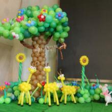 供应气球动植物造型/气球造型布置/成都气球 供应气球植物造型批发
