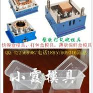台州注射模具厂保鲜盒塑胶模具图片