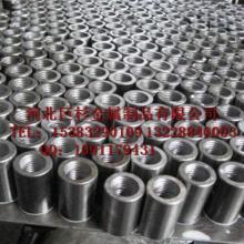 供应巨杉厂家直螺纹钢筋连接套筒,钢筋直螺纹套,钢筋接头图片