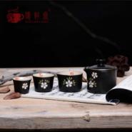 陶瓷汝窑便携旅行茶具粗陶快客杯批图片