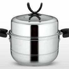 供应双篦复底多用蒸锅-广东枝发不锈钢