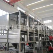 树脂湿颗粒七层带式干燥机设备图片