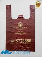 定做市场批发蔬菜早餐打包袋环保购物背心马甲袋生产厂家批发