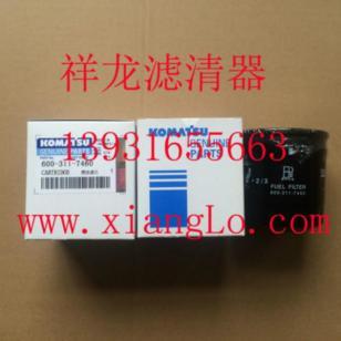 PC小松挖掘机600-311-7460燃油滤芯图片