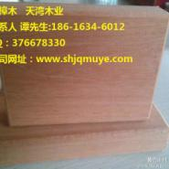 烟台山樟木防腐木地板图片