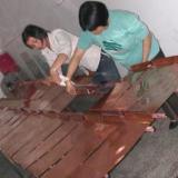 供应进口大规格紫铜板厂家t2紫铜带精准分条