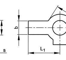 供应进口双耳止动垫圈,DIN463
