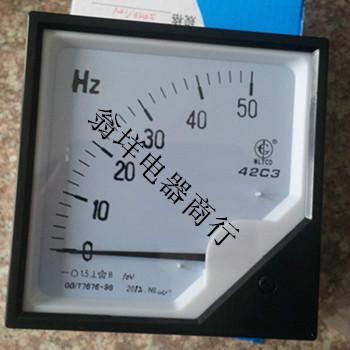 供应42C3-HZ频率表 50HZ频率表 10V频率表