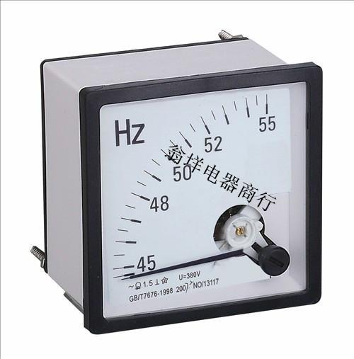 供应SQ72-HZ频率表 45-65HZ频率表