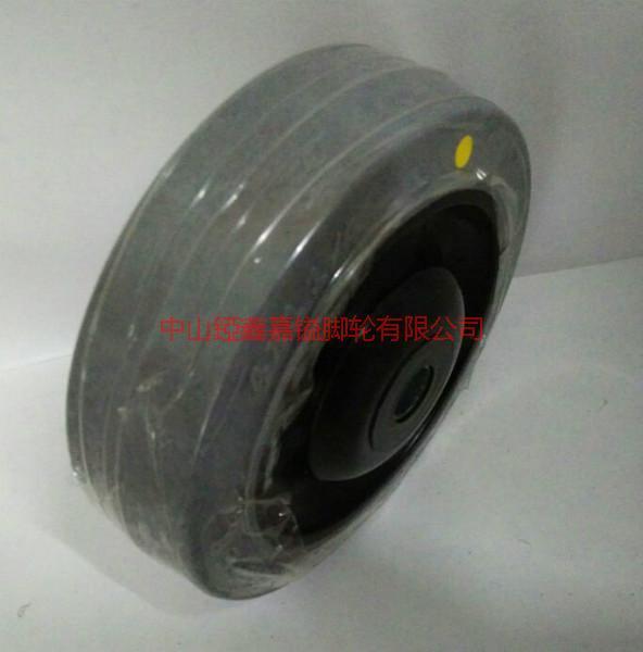 供应中型导电静音TPR轮-深圳3寸4寸5寸6寸8寸超级人造胶静音耐磨导电脚轮