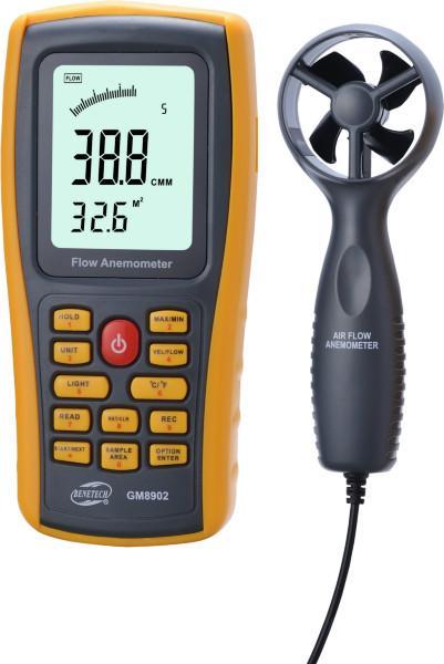 供应标智GM8902数字式风速计 测风仪 风温仪 风速计