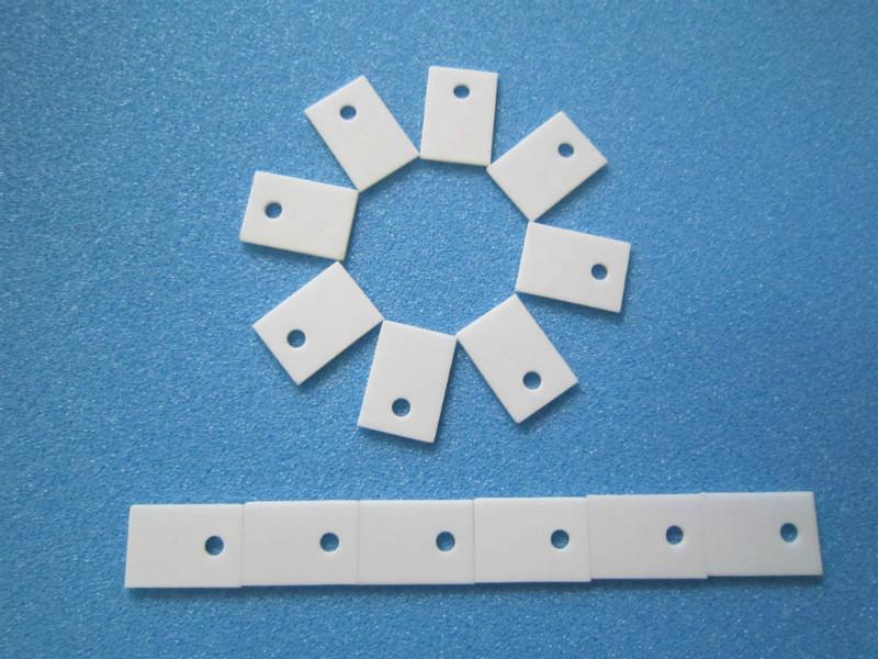 供应22*16高导热氧化铝陶瓷散热片、基片