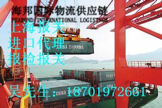 供应上海代理木材报关/木材进口报关图片