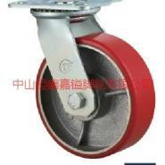 供应TF中重型厚装铁心PU万向脚轮-厚装铁心PU轮价格-厚装铁心PU轮厂价销售