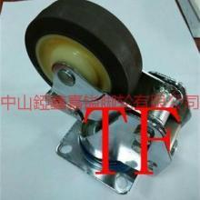 供应TF75mm100mm125mm减震带弹簧万向轮-减震脚轮图片-錏鑫嘉镒脚轮网站