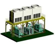 供應約克冷凍機,供應約克模塊化冷卻系統、燃氣輪機冷卻系統、約克一體化冷凍站圖片