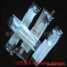 供应一次性餐具包装机应航空刀叉包装机筷子纸(湿)巾牙签等包装批发
