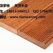 安徽进口菠萝格防腐木木材厂图片