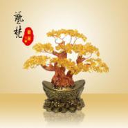 艺梵工艺品招财树传统玄关风水摆件图片