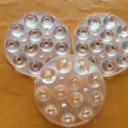 60度珠面XPE小功率12合1连体透镜图片