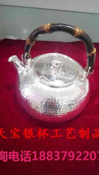 供应高档纯银碗具批发,陕西纯银制品公司