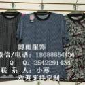供应中老年人服装批发沙河中老年短袖T恤批发十三行便宜中老年服装