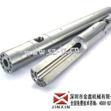 供应生产注塑机螺杆 注塑机双合金螺杆料筒金鑫国内一流批发