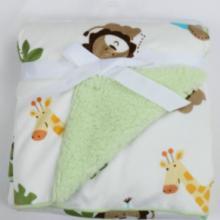 春夏季婴幼儿空调毯双层超柔婴儿儿童毛毯云毯盖毯披风毯多功能毯卡思卡厂家批发批发