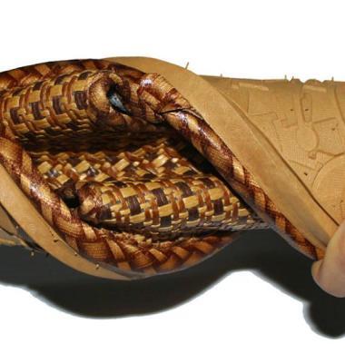 藤拖鞋图片/藤拖鞋样板图 (2)