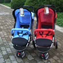 供应婴儿推车_五点式安全三轮推车_铝合金可平躺三轮推车