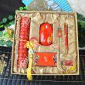 临沂市商务会议礼品青花瓷套装图片