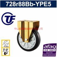 供应重力型铝芯PU静音定向轮-广东重型一体成型铝芯PU万向轮