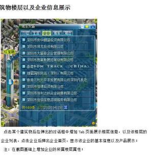 江门市三维地图仿真 三维导航图片