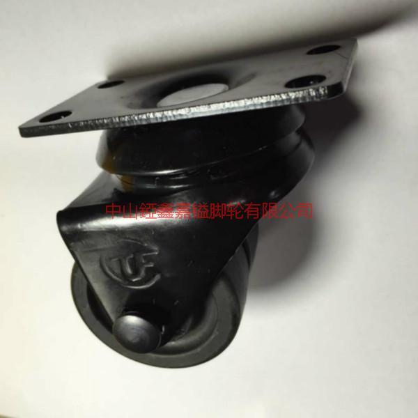 供应TF2寸低重心尼龙万向双轮-沭阳低重心轮生产厂家批发-低重心脚轮价格