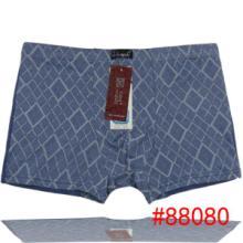 供应时尚印花男式四角裤竹纤维男式内裤