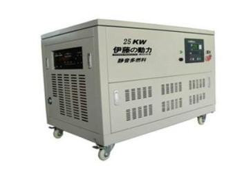 伊藤25KW燃气发电机YT25REG-ATS图片