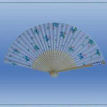 供应广州定制8寸女扇宣纸折扇批发