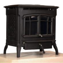 供应德普朗-帝斯曼家居取暖装饰燃木铸铁独立式真火壁炉帝斯曼欧式实木取暖批发